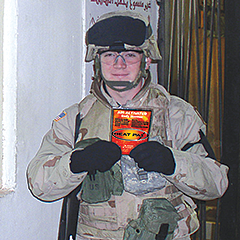 Military user of Heatpax